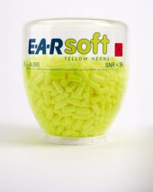 E.A.R Soft Yellow Neon Refill (250 Pairs)
