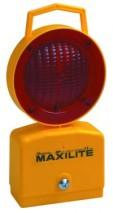 Red Maxilite Till Dawn Static / Flashing Lamp w/ 360° vision