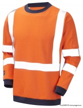 Progarm Hi-Vis Orange FR/AS/ARC Sweatshirt