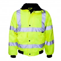 bodyguard-Bomber-Jackets-Yellow-High-Visibility-Jacket