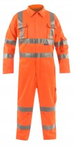 Hi Vis Rail Coverall