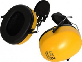 Clip on Ear Defenders (SNR25.9) Designed to fit most helmets
