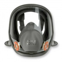 3M 6000 Series Full Face Masks w/ Wide field of vision