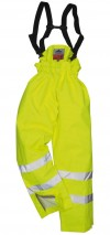 Unlined Hi Vis Anti Static FR Trousers