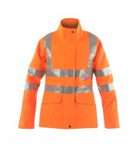 Vapourking Ladies Hi Vis Storm Coat