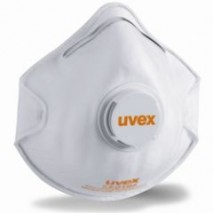 bodyguard-Disposable-Uvex-Silv-Air-2210-FFP2-Cup-Shape-Mask-with-Valve