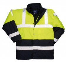 bodyguard-Jackets-Dual-Colour-Yellow/Navy-Blue-Hi-Vis-Jacket