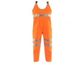 GN630FR - Flame Retardant High Vis BIB & Brace w/ Elasticated Waist