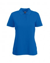 Fruit Of The Loom Lady Fit 65/35 Polo w/ Shaped side seams for feminine fit