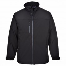 Softshell Jacket w/ windproof, water-resistant breathable membrane