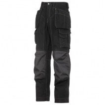 Snickers Trousers Floor Layers Workwear Trousers w/ Kevlar reinforced pad pockets