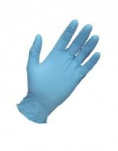 BG Blue Nitrile (100 Gloves) for General Handling, Food Use