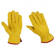Leather Driving Lined Gloves for High Dexterity, High Grip, Lite Weight