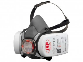 JSP Force 8 Half-mask with PressToCheck P3 R D Filters