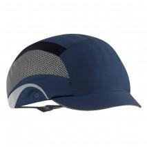 JSP Aerolite Hard bumpcap Cap Blue w/ Side reflective panels