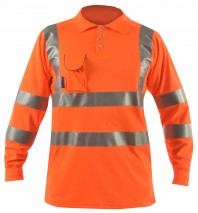 bodyguard-Polo-Shirts-Hi-Vis-Rail-L/S-Polo-Shirt