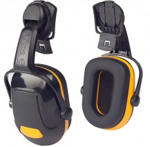 Scott Zone 1 Helmet Mounted Ear Defender w/ Stylish dual finish