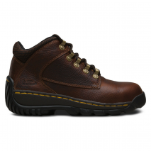 DR MARTENS Tred Teak Leather Hiker Boot with Rubber Outsole