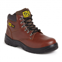 Sterling Light Weight Brown Safety Boot