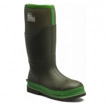 Dickies Landmaster Pro Black/Green Safety Wellies (S5)