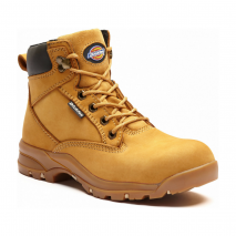 DICKIES WOMENS CORBETT SAFETY BOOT Honey W/ PADDED TONGUE
