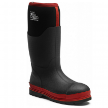 bodyguard-Safety-Wellingtons-Dickies-Landmaster-Pro-Black/Red-Safety-Wellies-(S5)