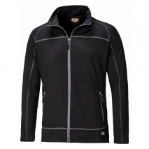 bodyguard-Sweatshirts-Dickies-Black-Laton-Zip-Through-Jacket