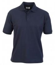 Titan Polo Shirt w/ Double Ribbed Collar & Cuffs