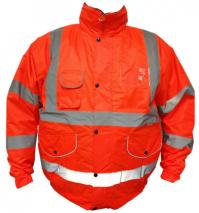 bodyguard-sale-Orange-Hi-Vis-Bomber-Jacket