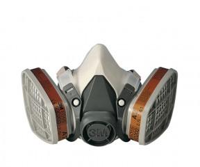 3M 6000 Series Half Mask Size Large