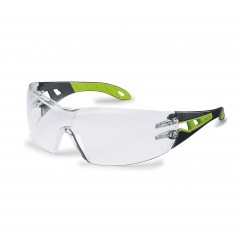 Uvex Pheos Safety Specs w/ fashionable design and duo-spherical lens technology