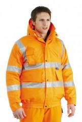 Breathable Rail Bomber Jacket w/ Contoured neckline collar