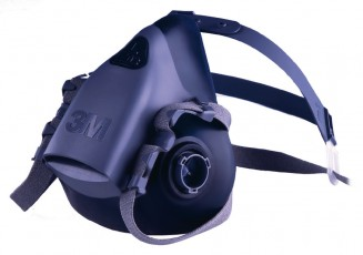 3M 7500 Silicon Series Half Mask Respirator