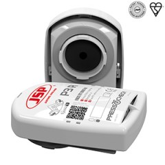 JSP Press to Check P3R Filters for JSP Force 8 Half Mask (RE038)
