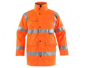 GN115 Multi Way Rail Coat w/ Removable hood & Fleece lined collar