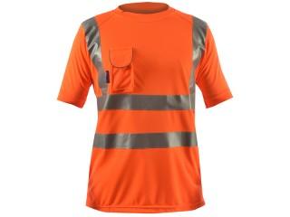Rail Hi Vis T-Shirt w/ Special Birdseye breathable fabric & Under arm ventilation