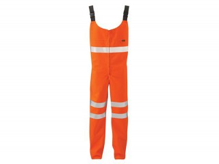 Goretex Rail Salopette Orange w/ with lower and mid-body protection