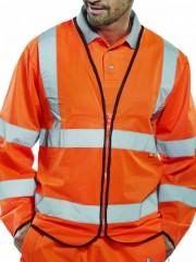 Flame Retardant High Vis Long Sleeve Vest
