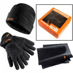 Scruffs winter accessories pack w/ fleece hat, scarf and gloves