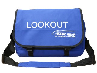 Lookout Messenger Bag w/ Robust Tough Fabric & Padded Shoulder Strap