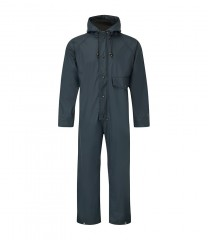 Lightweight & Waterproof Coverall w/ zip front & studded storm flap