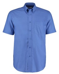 Kustom Kit Men's Workwear Short Sleeve Oxford Shirt - Perfect for embroidery