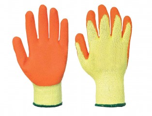 Extra Grip Orange Glove w/ Excellent hand grip