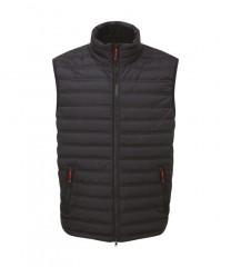 Elite Ribbed Bodywarmer Black w/ Thermofort insulation