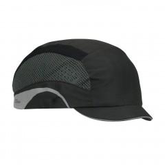 JSP Aerolite Hard bumpcap Cap Black w/ Side reflective panels