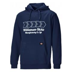 Dickies Arkley Hoodie Navy W/ Adjustable Hood & Lightly Padded Edge