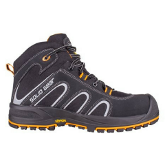Solid Gear Falcon Safety Boot w/ Composite plate & fiberglass toecap