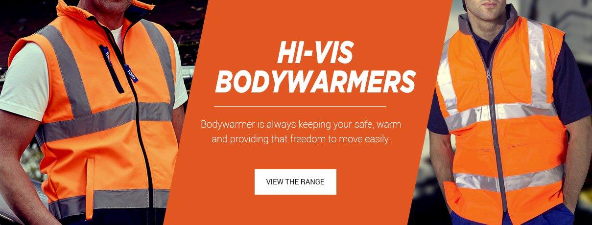 Bodyguard Workwear Bodywarmers